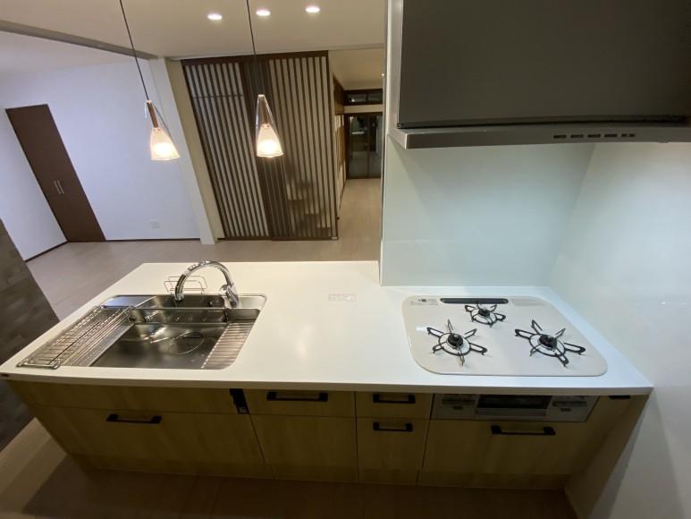 キッチン竣工2